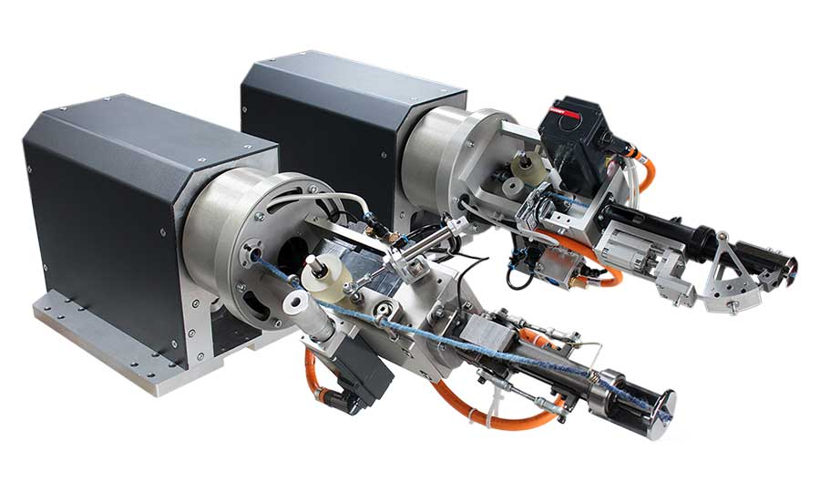 eGun-V Pneumatic and Machanical Tufting Gun for Robots